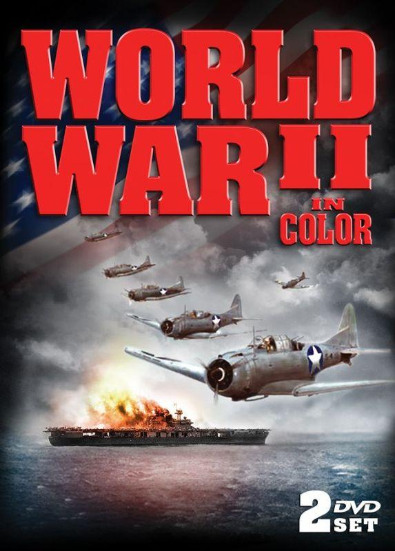 World War II in Color [2 Discs] [Tin Case] [DVD] 21183849