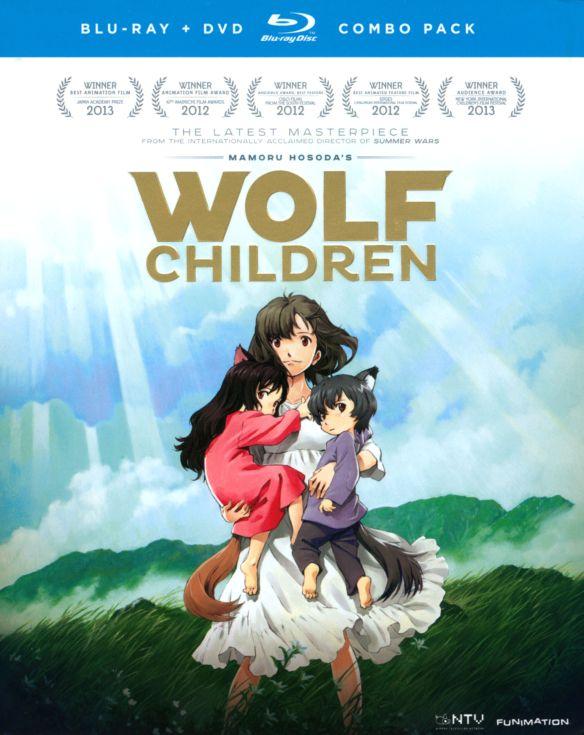 Wolf Children [3 Discs] [Blu-ray/DVD] [2012] 2119044