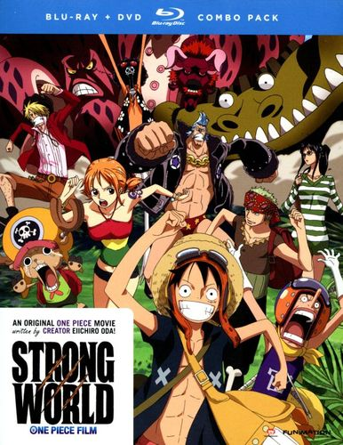 One Piece: Strong World [2 Discs] [Blu-ray/DVD] [2009] 2119122