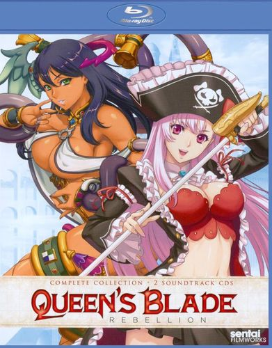 Queen's Blade: Rebellion - Complete Collection [3 Discs] [Blu-ray] 21263241