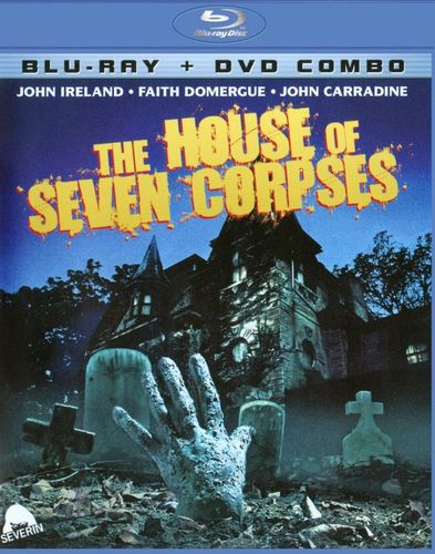 The House of Seven Corpses [2 Discs] [Blu-ray/DVD] [1973] 21265682