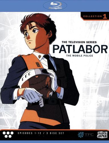 Patlabor - The Mobile Police: The Television Series, Collection 1 [3 Discs] [Blu-ray] 21266327