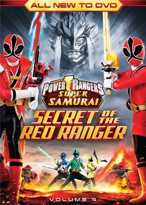 Power Rangers Super Samurai, Vol. 4: The Secret of the Red Ranger [DVD] 21268219