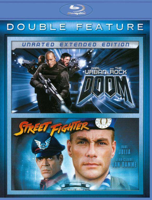 Doom/Street Fighter [2 Discs] [Blu-ray] 21285819