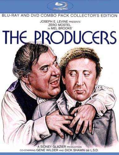 The Producers [Collector's Edition] [2 Discs] [Blu-ray/DVD] [1968] 21326443