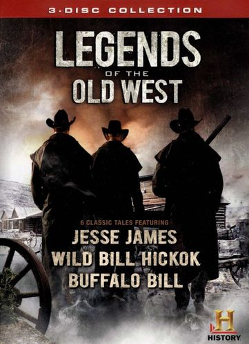 Legends of the Old West [3 Discs] [DVD] 21327142