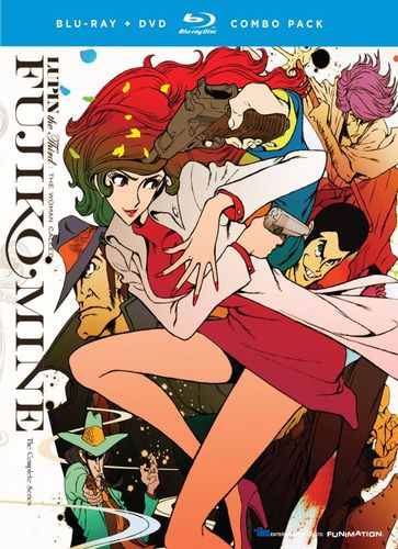 Lupin the 3rd: The Woman Called Fujiko Mine - The Complete Series [4 Discs] [Blu-ray/DVD] 21335035