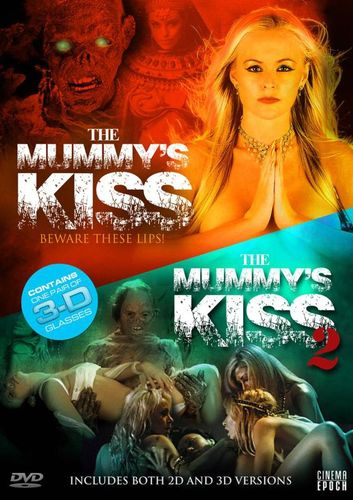 The Mummy's Kiss/The Mummy's Kiss 2 [3D] [With 3D Glasses] [DVD] 21397591