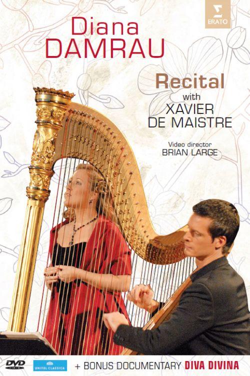 """Diana Damrau: Recital with Xavier de Maistre; Documentary """"Diva Divina"""" [DVD] 21426682"""