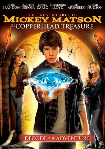 The Adventures of Mickey Matson and the Copperhead Treasure [DVD] [2012] 21455692