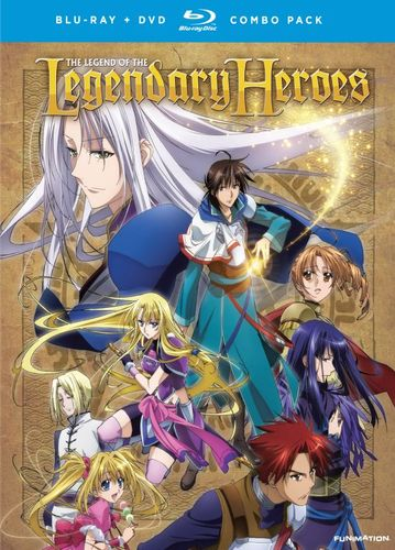 The Legend of the Legendary Heroes: The Complete Series [8 Discs] [Blu-ray/DVD] 21492892