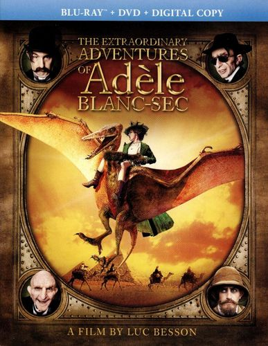 The Extraordinary Adventures of Adele Blanc-Sec [Blu-ray] [2010] 21508118