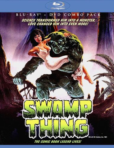 Swamp Thing [2 Discs] [Blu-ray/DVD] [1982] 21508136