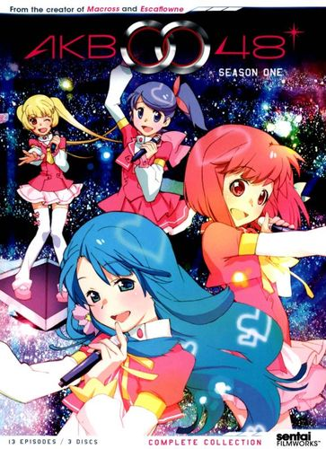 AKB0048: Season One Complete Collection [3 Discs] [DVD] 21541185