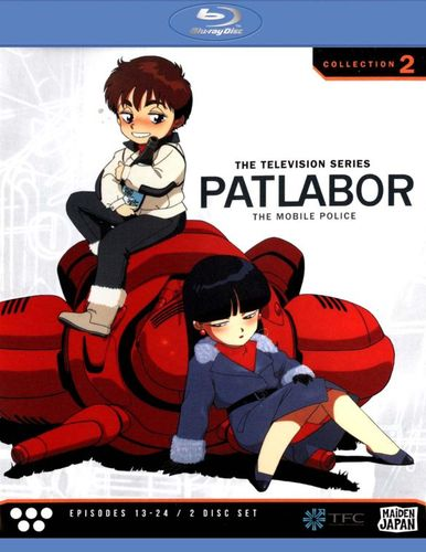 Patlabor - The Mobile Police: The Television Series, Collection 2 [2 Discs] [Blu-ray] 21541219