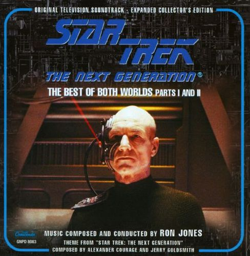 Star Trek: The Next Generation, Vol. 2 - The Best of Both Worlds, Pts. 1-2 [CD] 21546056