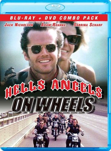 Image of Hell's Angels on Wheels [2 Discs] [Blu-ray/DVD] [1967]