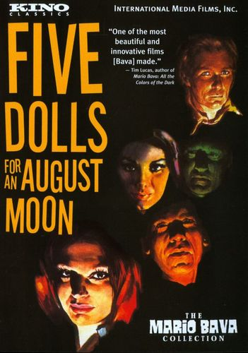 5 Dolls for an August Moon [DVD] [1969] 21608611