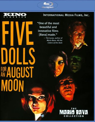 5 Dolls for an August Moon [Blu-ray] [1969] 21608702