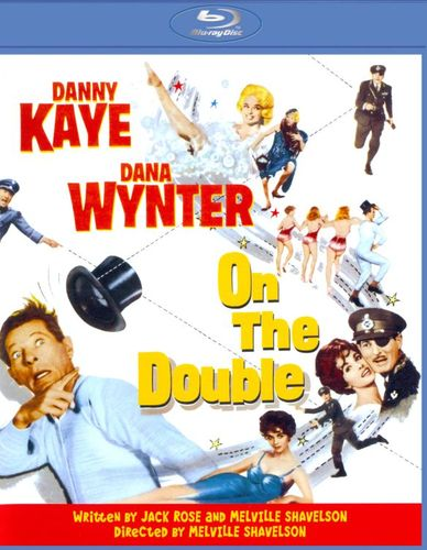 On the Double [Blu-ray] [1961] 21615435