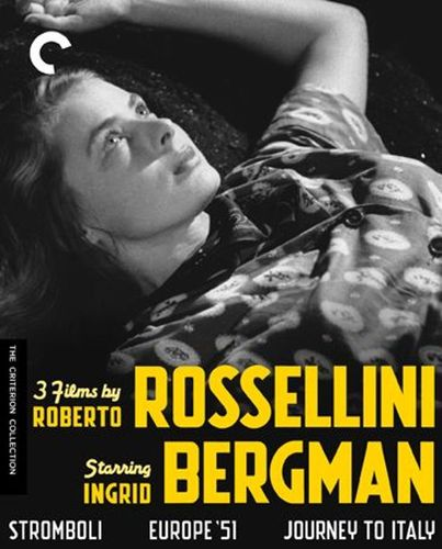 3 Films by Roberto Rossellini Starring Ingrid Bergman [Criterion Collection] [4 Discs] [Blu-ray] 21616347