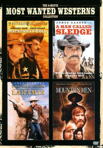 The 4-Movie Most Wanted Westerns Collection [2 Discs] [DVD] 21617346