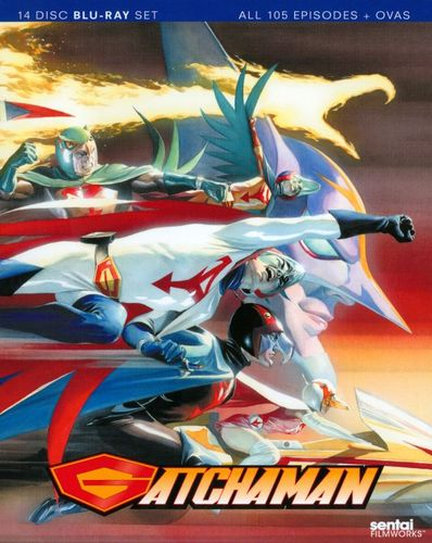 Gatchaman: Complete Collection [14 Discs] [Blu-ray] 21637207