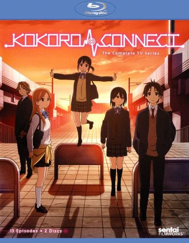 Kokoro Connect: TV Collection [2 Discs] [Blu-ray] 21638181