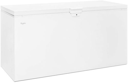 Whirlpool 21.7 cu. ft. Chest Freezer with Extra-Large Capacity in White