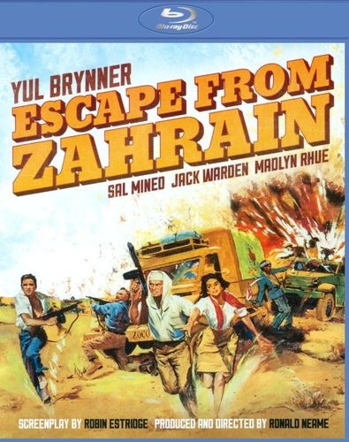 Escape from Zahrain [Blu-ray] [1962] 21653504
