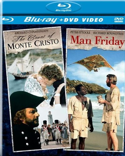 The Count of Monte Cristo/Man Friday [2 Discs] [DVD/Blu-ray] [Blu-ray/DVD] 21661151
