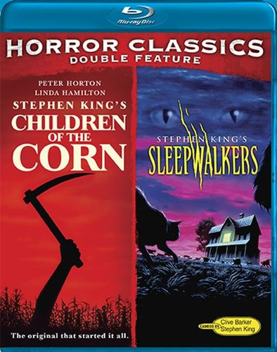Horror Classics Double Feature: Children of the Corn/Sleepwalkers [2 Discs] [Blu-ray] 21689702