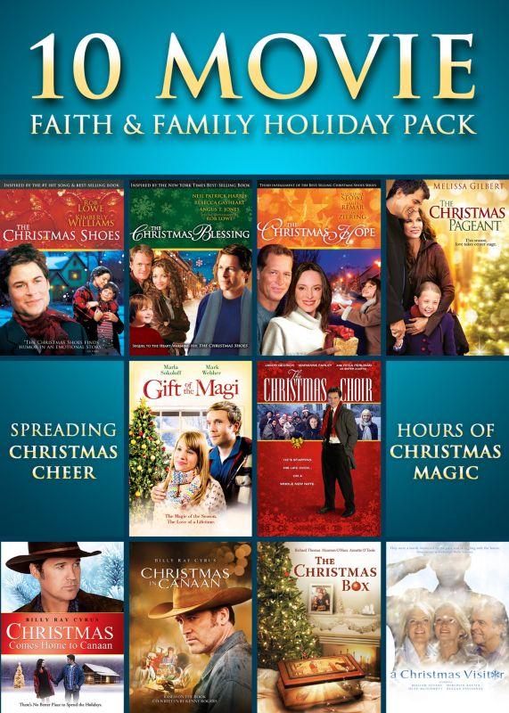 10 Movie Faith & Family Holiday Pack [3 Discs] [DVD]