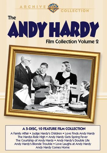 The Andy Hardy Collection, Vol. 2 [5 Discs] [DVD] 21694889