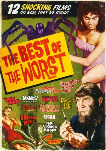 The Best of the Worst: 12 Movie Set [3 Discs] [DVD] 21715656