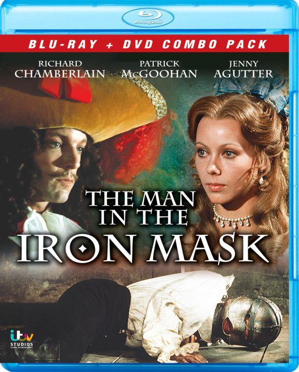 Man in the Iron Mask [2 Discs] [Blu-ray/DVD] [1977] 21741095