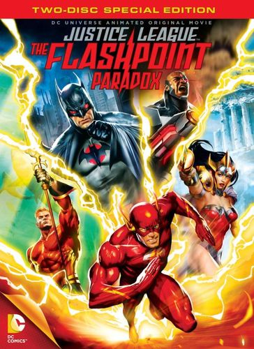Justice League: The Flashpoint Paradox [Special Edition] [2 Discs] [DVD] [2013] 21836025