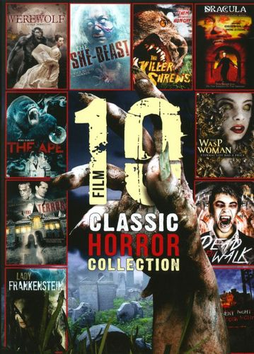 10 Film Classic Horror Collection [2 Discs] [DVD] 21859645