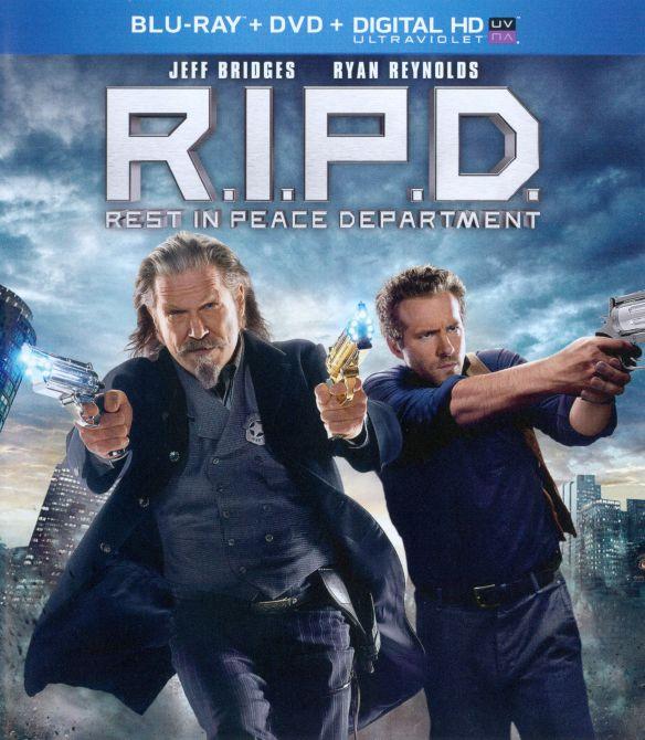 R.I.P.D. [2 Discs] [Includes Digital Copy] [UltraViolet] [Blu-ray/DVD] [2013] 2187979