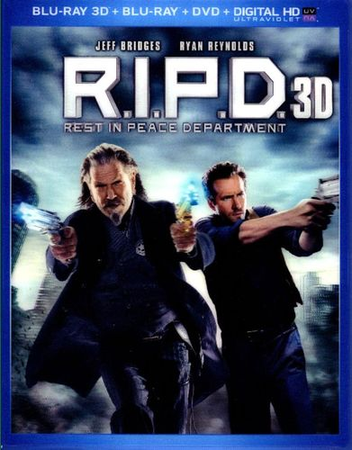 R.I.P.D. [3 Discs] [Includes Digital Copy] [UltraViolet] [3D] [Blu-ray/DVD] [Blu-ray/Blu-ray 3D/DVD] [2013] 2187988