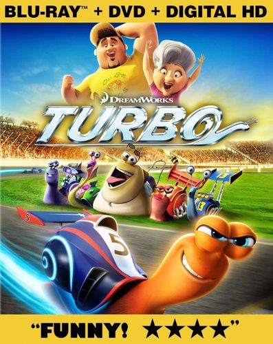 Turbo [2 Discs] [Includes Digital Copy] [Blu-ray/DVD] [2013] 2188329