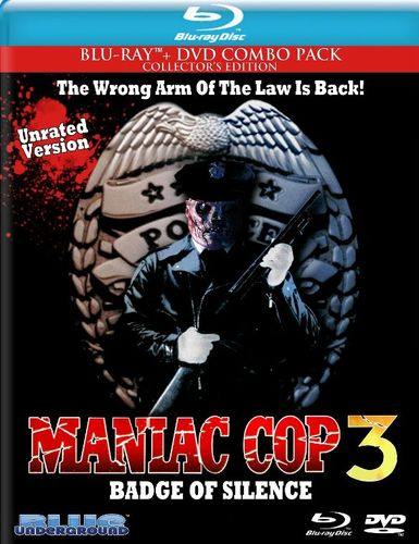 Maniac Cop 3: Badge of Silence [2 Discs] [Blu-ray/DVD] [1993] 21975593