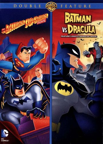 The Batman Superman Movie/The Batman vs. Dracula [2 Discs] [DVD] 21975784
