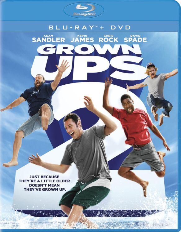 Grown Ups 2 [2 Discs] [Includes Digital Copy] [UltraViolet] [Blu-ray/DVD] [2013] 2199085