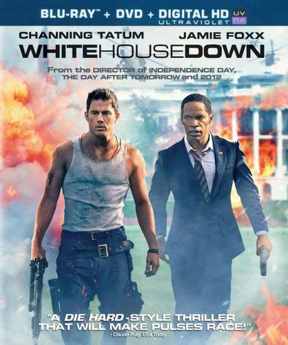 White House Down [2 Discs] [Includes Digital Copy] [UltraViolet] [Blu-ray/DVD] [2013] 2201009