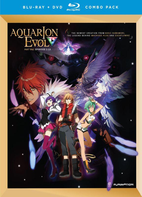 Aquarion Evol: Part 1 [2 Discs] [Blu-ray/DVD] 22056207