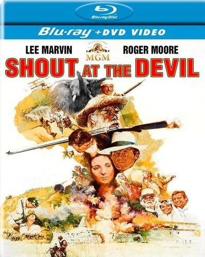 Shout at the Devil [2 Discs] [Blu-ray/DVD] [1976] 22084158