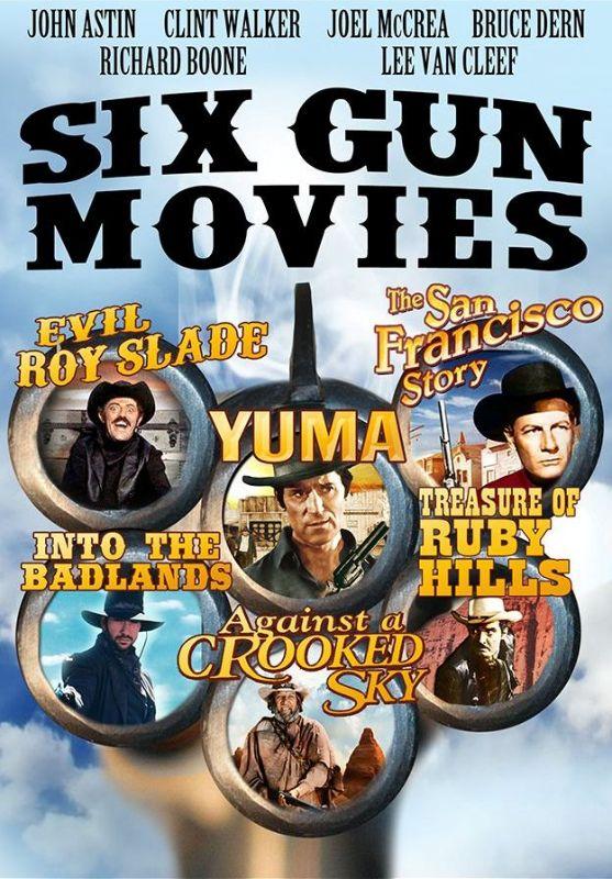 Six Gun Movies [2 Discs] [DVD] 22112163