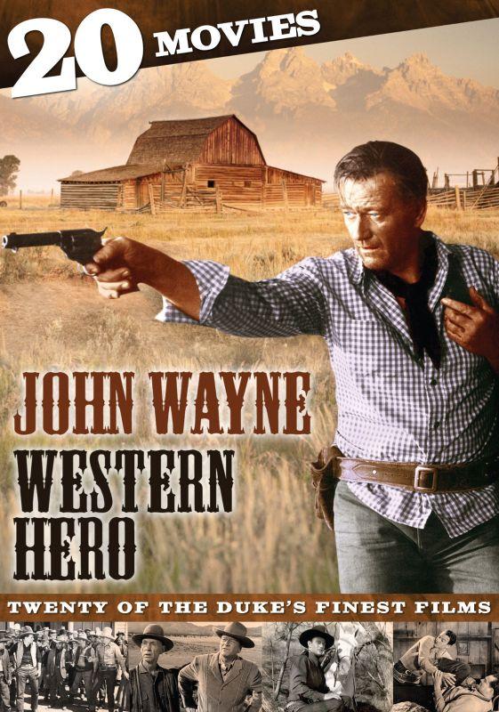 John Wayne: Western Hero - 20 Movies [4 Discs] [DVD] 22121398