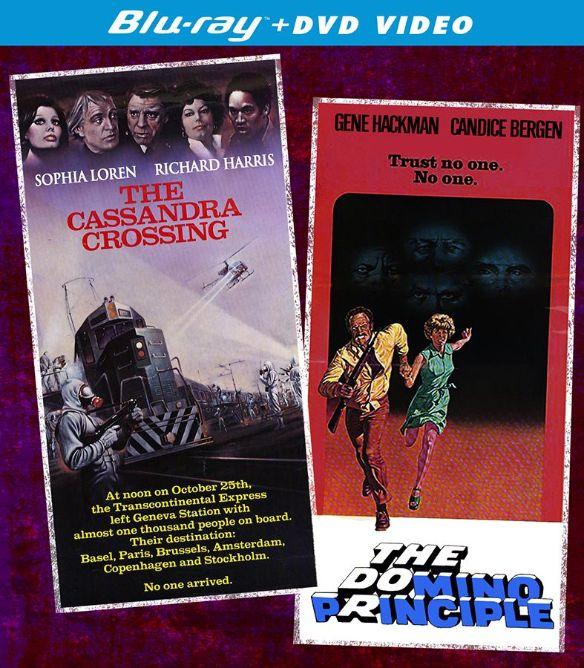 The Cassandra Crossing/The Domino Principle [2 Discs] [Blu-ray/DVD] 22122247
